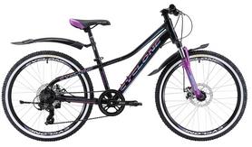 """Велосипед подростковый Cyclone Dream 2.0 2018 - 24"""", рама 13"""", фиолетовый (win18-023)"""