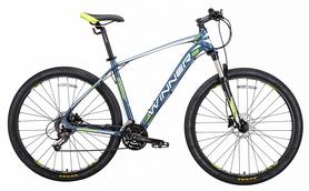 """Велосипед горный Winner Gladiator 2018 - 29"""", рама - 18"""", зеленый"""