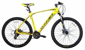 "Велосипед горный Winner Drive 2018, рама - 17"", желтый"
