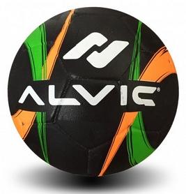 Мяч футбольный Alvic Street №5 оранжево-зеленый