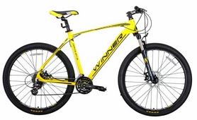 "Велосипед горный Winner Drive 2018, рама - 19"", желтый"