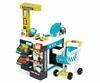 Супермаркет интерактивный City Shop с тележкой, продуктами и аксессуарами Smoby Toys зеленый - фото 1