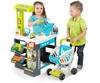 Супермаркет интерактивный City Shop с тележкой, продуктами и аксессуарами Smoby Toys зеленый - фото 2