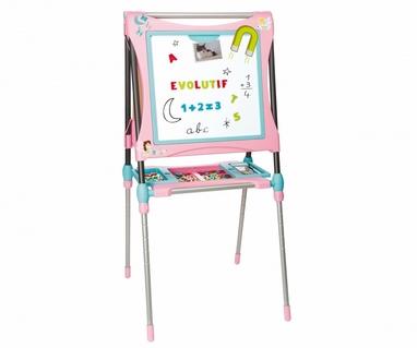 Мольберт большой двухсторонний металлический Pink Smoby Toys