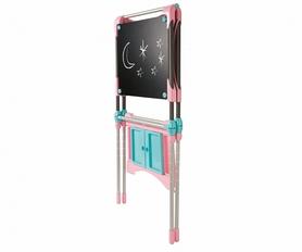 Фото 3 к товару Мольберт большой двухсторонний металлический Pink Smoby Toys