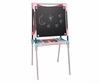 Мольберт большой двухсторонний металлический Pink Smoby Toys - фото 2