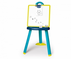 Мольберт со съемной доской и аксессуарами Smoby Toys голубой