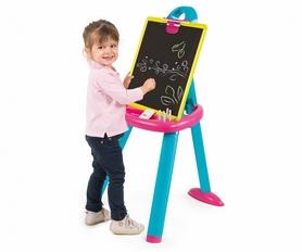 Мольберт со съемной доской и аксессуарами Smoby Toys розовый