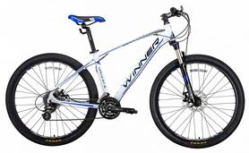 """Велосипед горный Winner Drive 2018, рама - 19"""", белый"""
