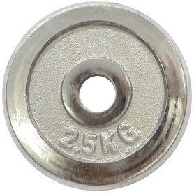 Диск хромированный HouseFit 2,5 кг DB C102-2.5 - 30 мм
