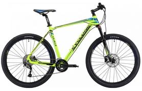 """Велосипед горный Cyclone LX-650b 2018 - 27,5"""", рама - 21"""", зеленый"""