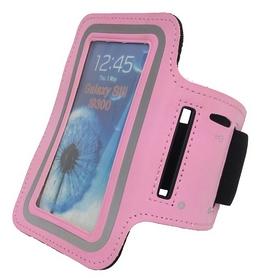 Чехол для телефона наручный Tunturi Telephone Armband, розовый