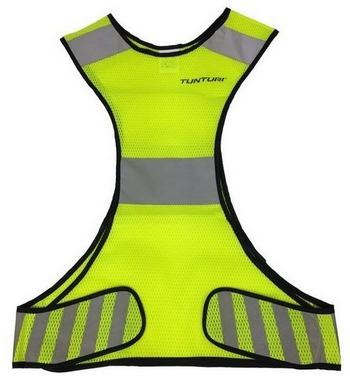 Жилет для бега светоотражающий Tunturi Running Vest X-Shape