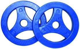 Распродажа*! Диски обрезиненные для BodyPump Tunturi Aerobic Disk, 2 шт по 2,5 кг