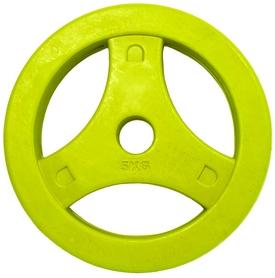 Диски обрезиненные для BodyPump Tunturi Aerobic Disk, 1 шт на 5 кг