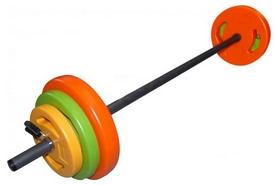 Фото 1 к товару Штанга наборная BodyPump Tunturi Aerobic Pump Set 20 кг