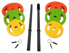 Фото 2 к товару Штанга наборная BodyPump Tunturi Aerobic Pump Set 20 кг