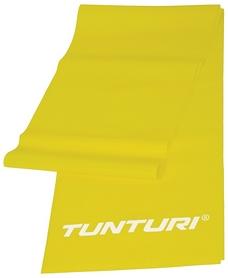 Лента для йоги/пилатеса Tunturi Resistance Band Light, желтая