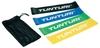 Набор эластичных мини-лент для йоги/пилатеса Tunturi Mini Resistance Band Set, 4 шт - фото 1