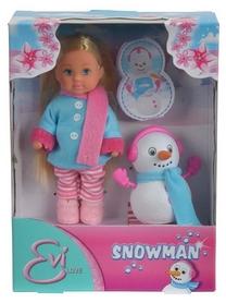 """Кукла Simba Toys """"Еви со снеговиком"""" 573 2805"""