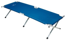 Раскладушка кемпинговая Ferrino De Luxe Extra Strong Blue