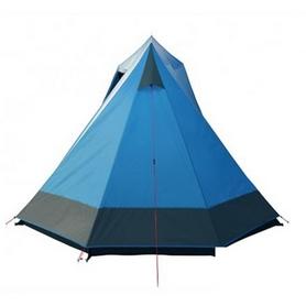Фото 3 к товару Палатка четырехместная High Peak Colorado 180 4 Blue