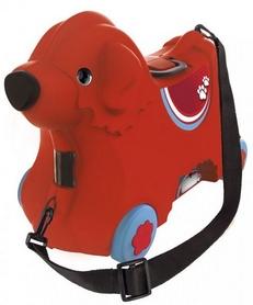 """Каталка детская Big """"Путешествие"""" с отделением для вещей, красная"""
