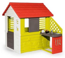 """Домик игровый Smoby Toys """"Дачный"""" с летней кухней 810702"""