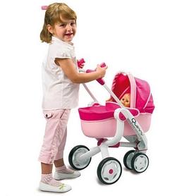 Коляска 4 в 1 для куклы Smoby Toys Maxi-Cosi трехколесная - Фото №2