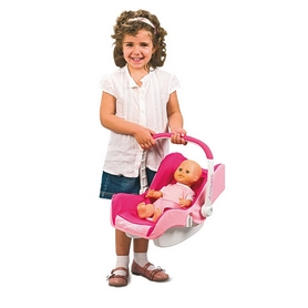 Коляска 4 в 1 для куклы Smoby Toys Maxi-Cosi трехколесная - Фото №3