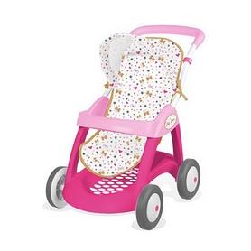 Коляска прогулочная для куклы Smoby Toys Baby Nurse с корзиной для покупок