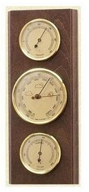 Барометр с гигрометром и термометром Moller 203801 грецкий орех
