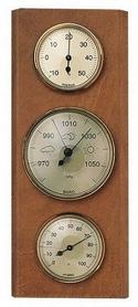 Барометр с гигрометром и термометром Moller 203802 дуб