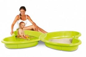 Фото 1 к товару Песочница-бассейн Smoby Toys с подводом для воды