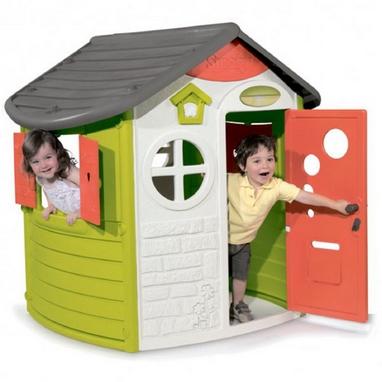 Домик лесника Smoby Toys со ставнями и ключом