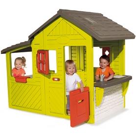 Домик садовый Smoby Toys с кухней-барбекю
