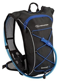 Рюкзак спортивный Highlander Kestrel 6 Hydration Pack Black/Blue, 10 л