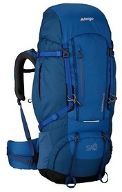 Рюкзак туристический Vango Sherpa Coast синий, 60+10 л