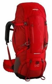 Рюкзак туристический Vango Sherpa Lava красный, 60+10 л