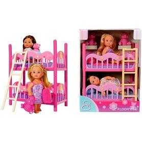 """Набор кукольный Simba Toys """"Эви с двуспальной кроваткой"""""""
