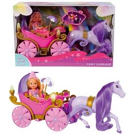 """Набор кукольный Simba Toys """"Эви и карета с конем"""""""