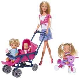 Набор кукольный Simba Toys Steffi Love Штеффи с детьми и аксессуарами