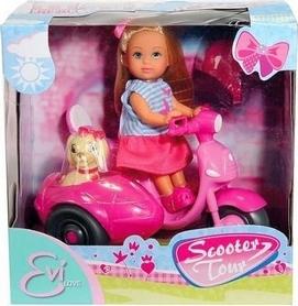 """Набор кукольный Simba Toys """"Эви Прогулка на скутере"""""""