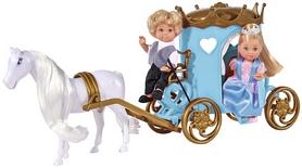 """Набор кукольный Simba Toys Эви и Тимми """"Карета принцессы с лошадью"""""""
