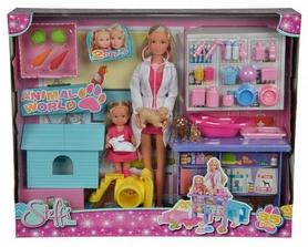 """Набор кукольный Штеффи и Эви Simba Toys """"Ветеринарная клиника"""" 573 3040"""