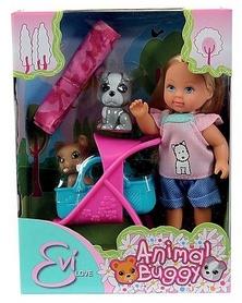 Кукла Эви и ее любимцы, с коляской и аксессуарами Simba Toys 573 3080