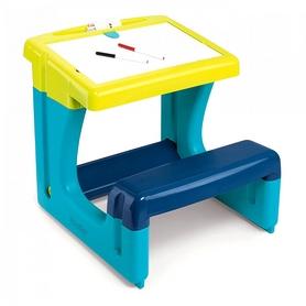 """Парта-доска """"Школьник"""" Smoby Toys (голубая)"""