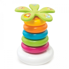 Пирамидка Cotoons Цветочек Smoby Toys