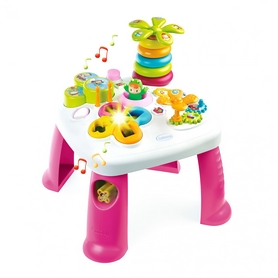 """Стол детский игровой Cotoons """"Цветочек"""" со звуковыми и световыми эффектами Smoby Toys (розовый)"""