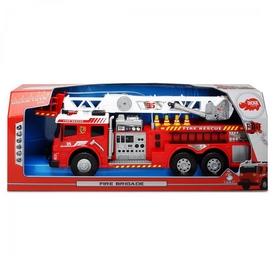 Авто функциональное Dickie Toys Пожарная бригада со звуковыми, световыми и водными эффектами